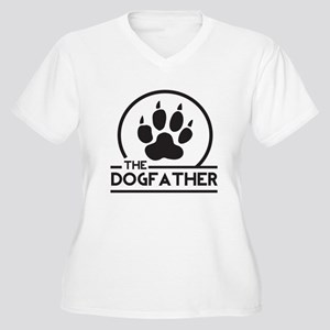 The Dogfather Plus Size T-Shirt