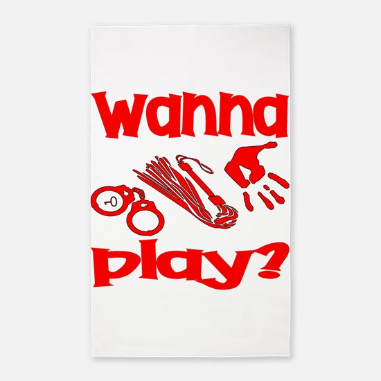 Wanna Play 3'x5' Area Rug