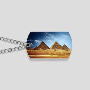 Giza Pyramids Dog Tags