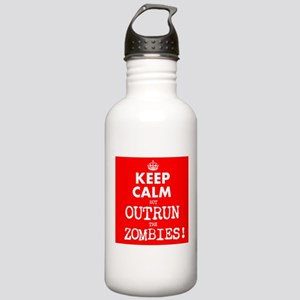 Keep Calm but Outrun t Stainless Water Bottle 1.0L