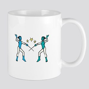 Women Fencing Mugs