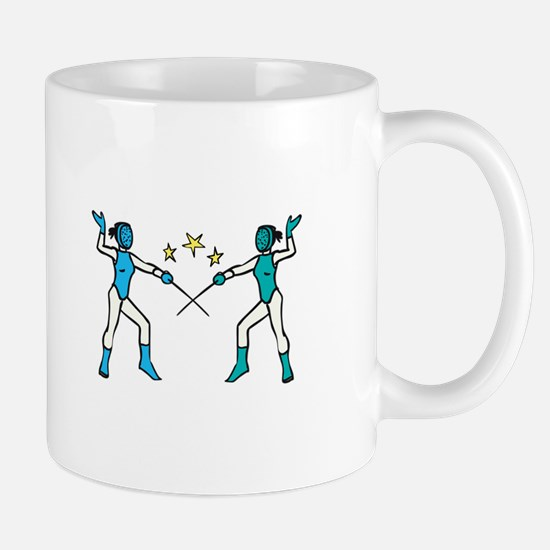 Women Fencing Mugs