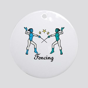 Fencing Ornament (Round)