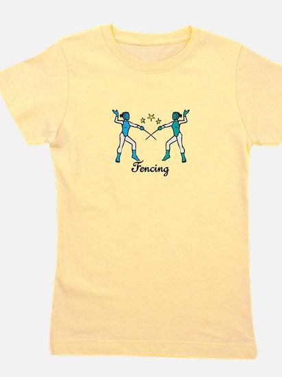 Fencing Girl's Tee