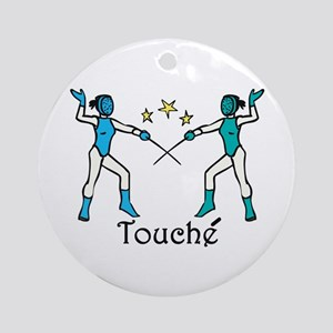 Touche Ornament (Round)