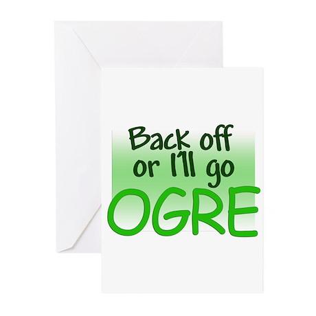 I'll go OGRE Greeting Cards (Pk of 10)