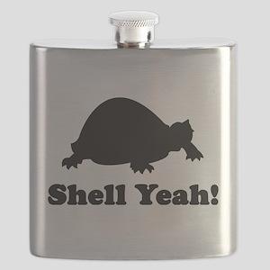 Shell yeah T-shirts Flask