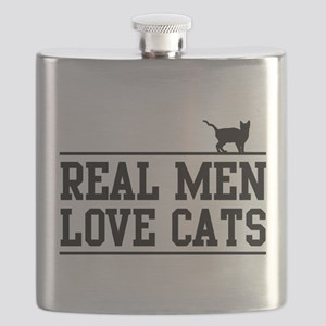 Real men love cats Flask