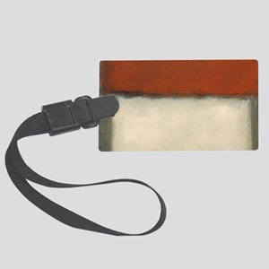 ROTHKO RED_RUST Luggage Tag