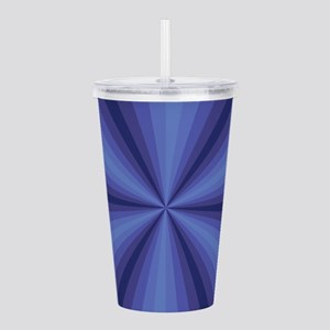 Blue Illusion Acrylic Double-wall Tumbler