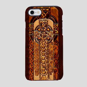 Harvest Moons Viking Crosses iPhone 7 Tough Case
