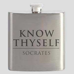 Know Thyself - Socrates Flask