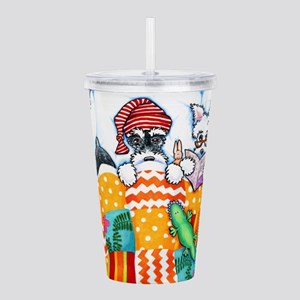 Schnauzers And Snoozes Acrylic Double-wall Tumbler