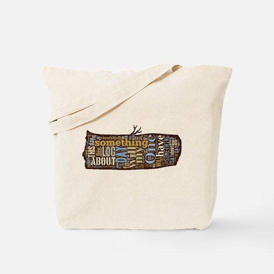 My Log Tote Bag