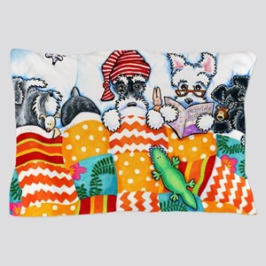 Schnauzers And Snoozes Pillow Case