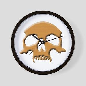 Skull (Wood Vampire) Wall Clock