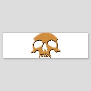 Skull (Wood Vampire) Bumper Sticker