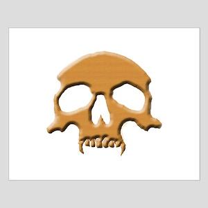 Skull (Wood Vampire) Small Poster