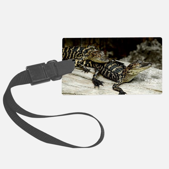 Unique Gators t Luggage Tag
