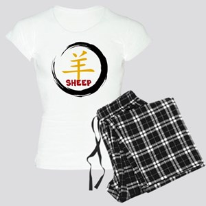 Chinese Zodiacc Character S Women's Light Pajamas