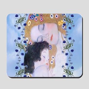 Gustav Klimt Mother & Child Beach Tote Mousepad