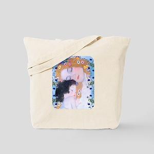 Gustav Klimt Mother & Child Ipad Sleeve Tote Bag