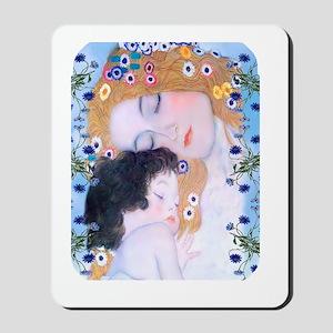 Gustav Klimt Mother & Child Ipad Sleeve Mousepad