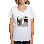 Married Dozens of Times Women's V-Neck T-Shirt