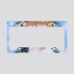 Gustav Klimt Mother & Child M License Plate Holder