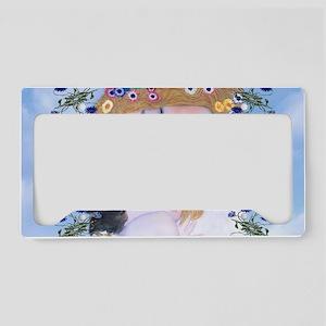 Gustav Klimt Mother & Child M License Plate Holder