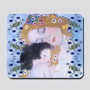 Gustav Klimt Mother & Child Messenger Ba Mousepad