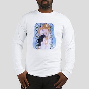 Gustav Klimt Mother & Child Lu Long Sleeve T-Shirt