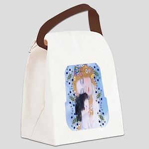 Gustav Klimt Mother & Child Lunch Canvas Lunch Bag