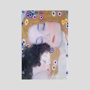 Gustav Klimt Mother & Child Nook  Rectangle Magnet