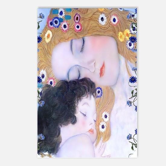 Gustav Klimt Mother & Chi Postcards (Package of 8)
