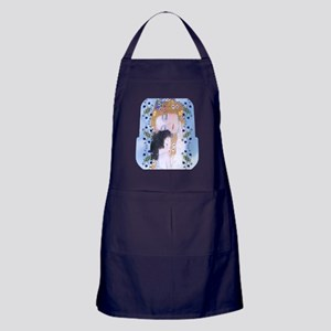 Gustav Klimt Mother & Child Lunch Bag Apron (dark)
