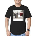 Married Dozens of Time Men's Fitted T-Shirt (dark)