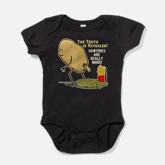 How Fries Are Really Made Baby Bodysuit