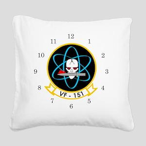 VF-151 Vigilantes Square Canvas Pillow