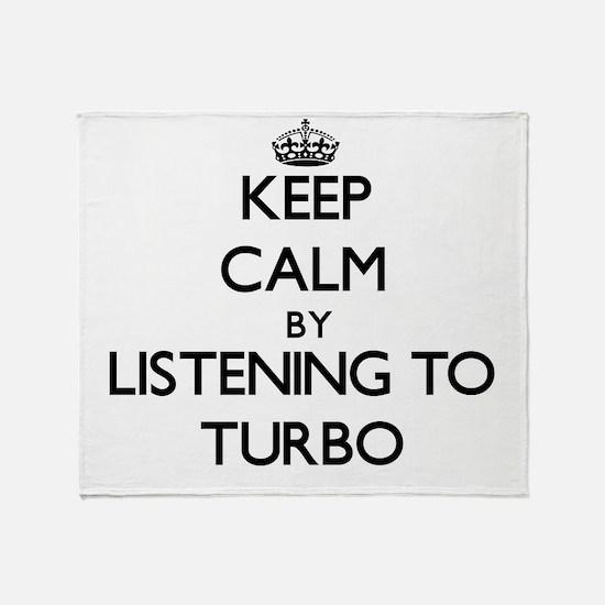 Funny Turbo Throw Blanket