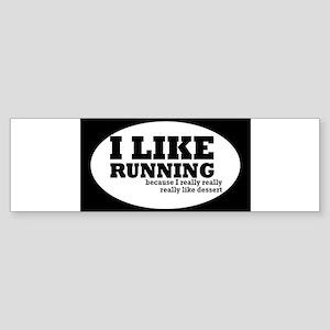 runningoval Bumper Sticker