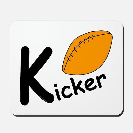 Football Kicker Mousepad