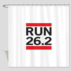 Run 26.2 Shower Curtain