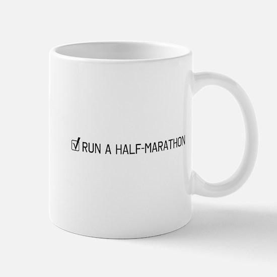 Run a half-marathon Mugs
