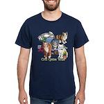 Cats Gone Wild Dark T-Shirt