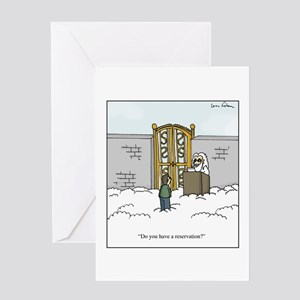 Heaven Reservation Greeting Card