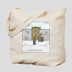 Heaven Reservation Tote Bag