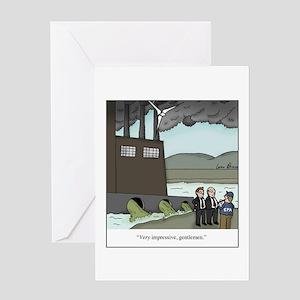 Pollution Regulation Greeting Card