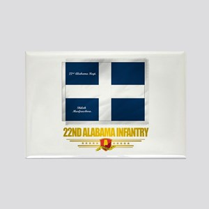 22nd Alabama Infantry (v10) Magnets