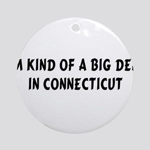 Im Kind of a Big DealCT Ornament (Round)